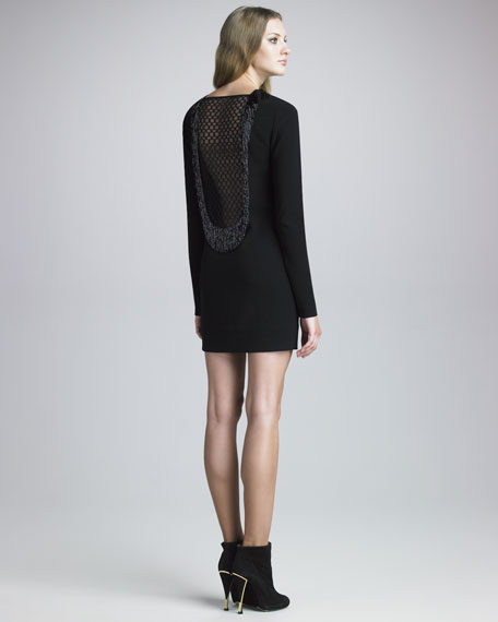 Margherita Lace-Back Dress