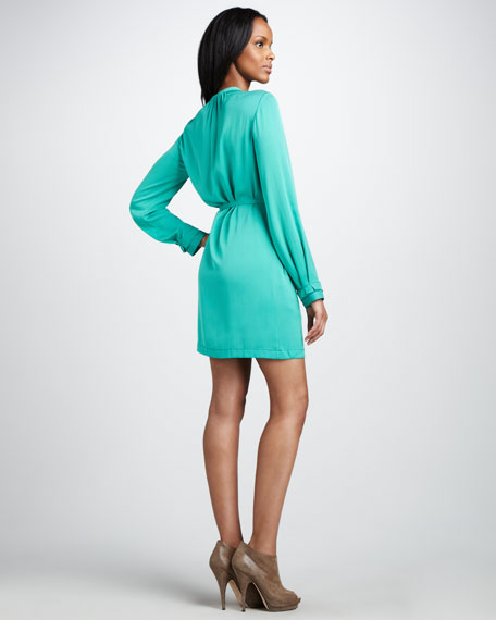 Atria Button-Front Dress