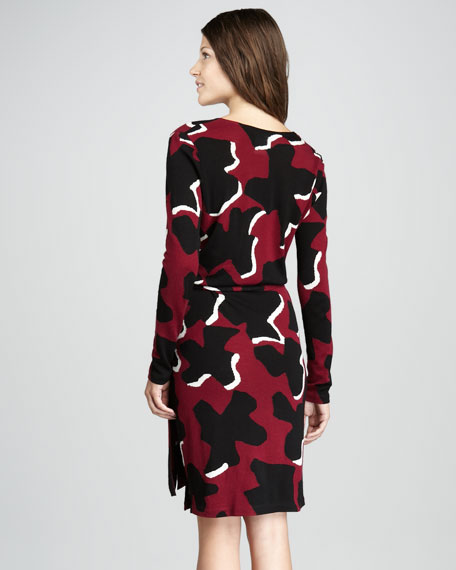 Richley Printed Jersey Dress