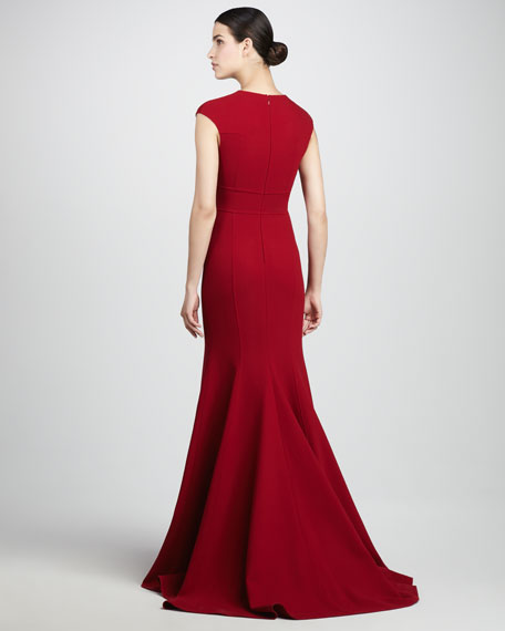 BG 111th Anniversary Deep-V Gown