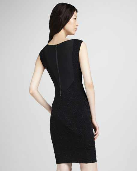 Annabele Shimmery Fitted Dress