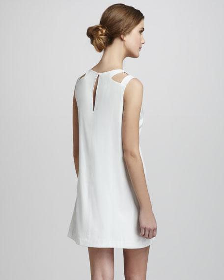 Randall Cutout-Shoulder Dress