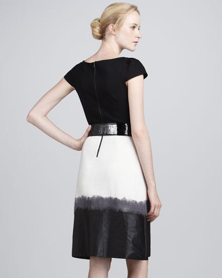 Lexi Colorblock Ombre Dress