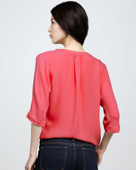 Marru Pintuck Blouse