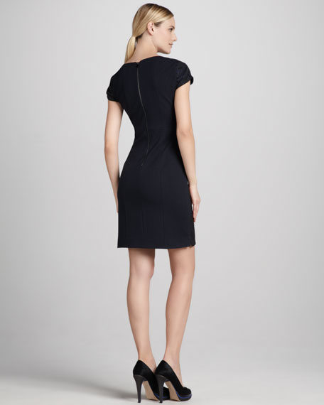 Estelle Jacquard Dress
