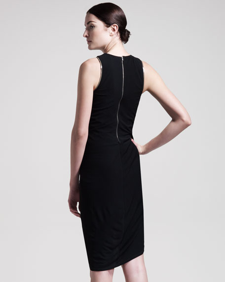 Helix Jersey Dress