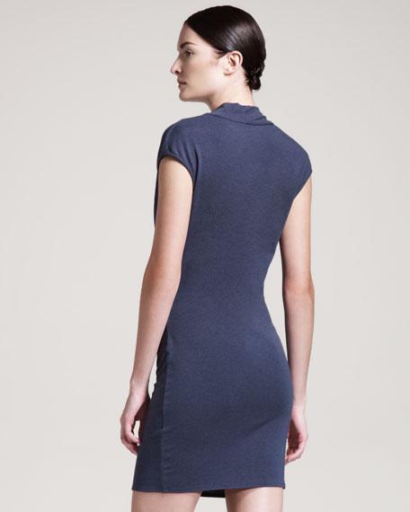 Nova Jersey Dress, Dusty Sapphire