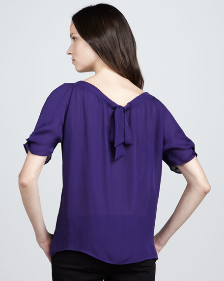 Eleanor Silk Top