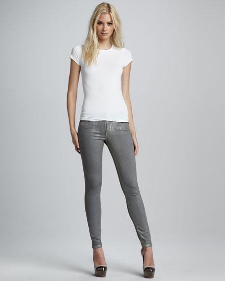 Verdugo Gold Skinny Jeans