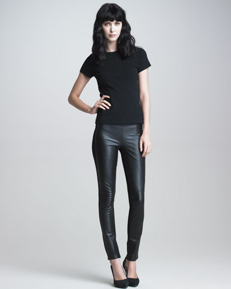 Paloma Leather Leggings