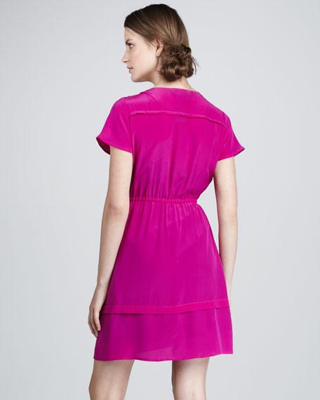 Mariko Lace-Panel Dress