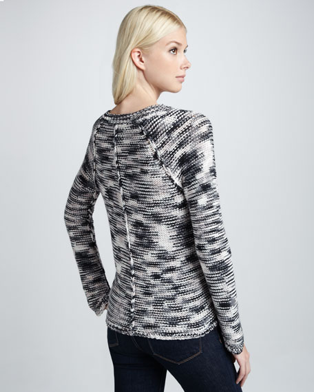 Space-Dye Cotton Sweater