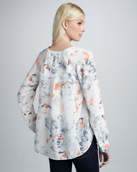 Misty Garden Printed Blouse