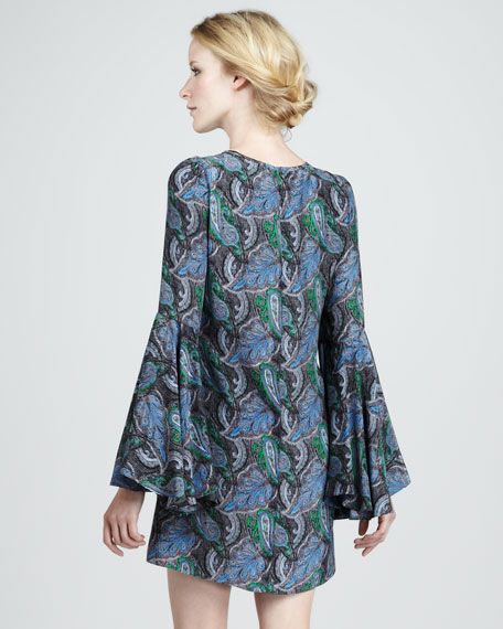 New Mabel Paisley Dress
