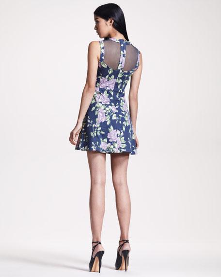 Ruby Floral-Print Dress