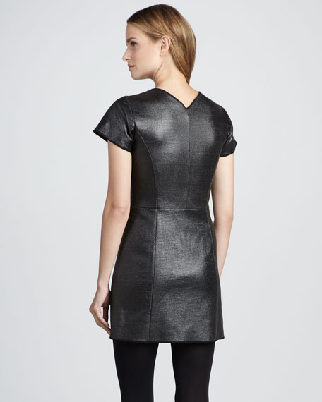 Dazai Fitted Coated Dress