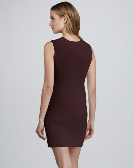 Keiro Ribbed Sweaterdress