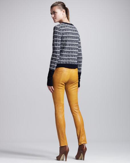 Rowe Leather Leggings