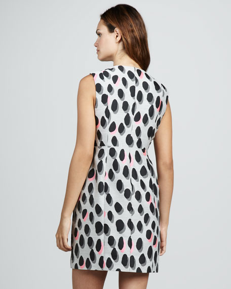 New Summer Animal Dots Minidress