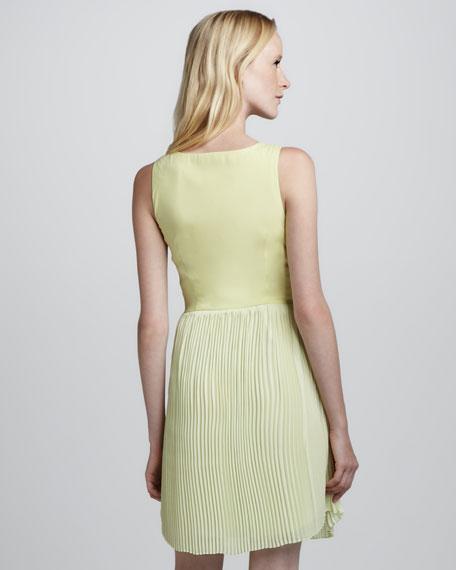 Maratea Pleat-Skirt Dress
