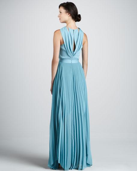 Antalya Halter Maxi Dress