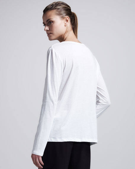 Nattona Pima Long-Sleeve Tee