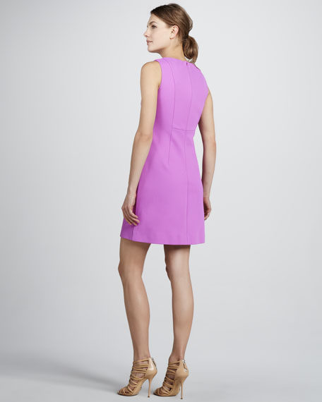 Capreena Crepe Shift Dress