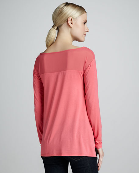 Kemper Stretch-Knit Sweater