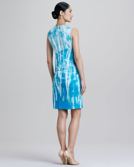 Emory Tie-Dye Sheath Dress