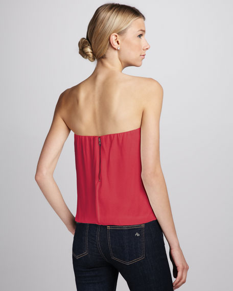 Carmela Draped Tube Top