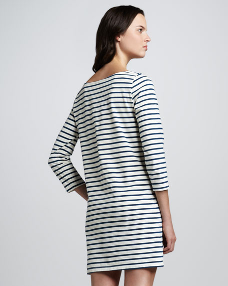 Winberry Striped Knit Dress