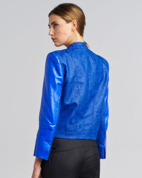 Varnish Jacquard Blazer