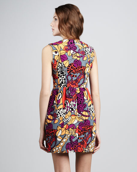 Animal Show Printed Dress