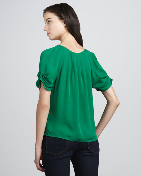Berkeley Tie-Neck Top