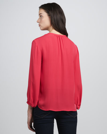 Ameline Pintucked Blouse