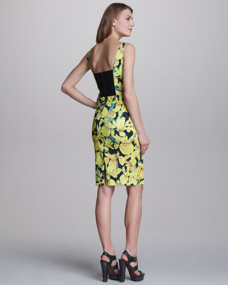Blair Floral-Print Dress