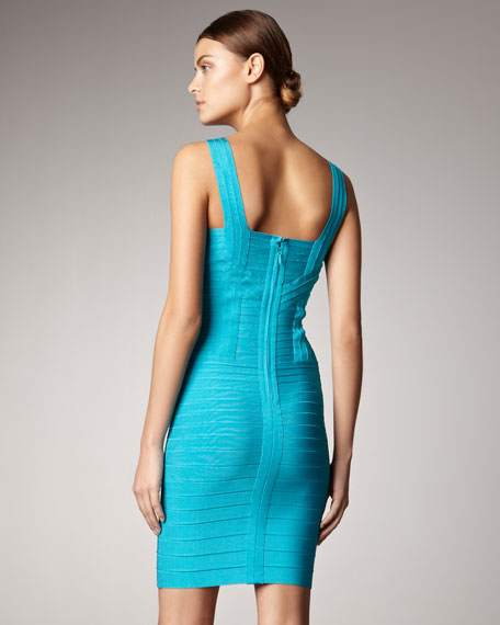 Bright Bandage Dress
