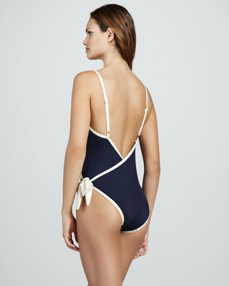 Woodward Wrap One-Piece