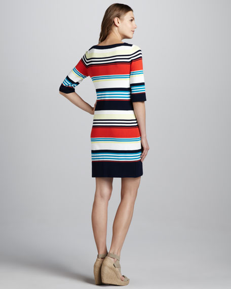 Camden Striped Knit Dress