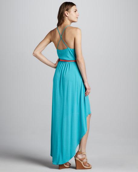 Jade High-Low Maxi Dress