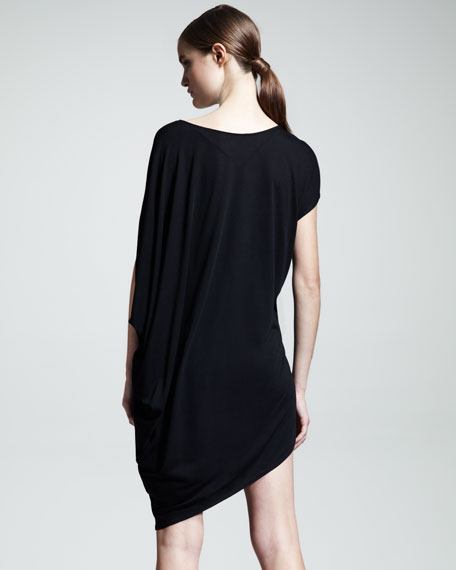 Kinetic Asymmetric Jersey Dress