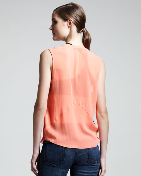Ghost Silk Top, Flash