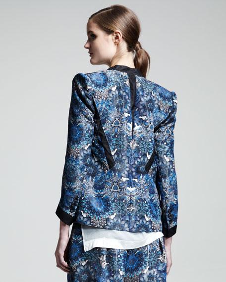 Mandala-Print Jacket