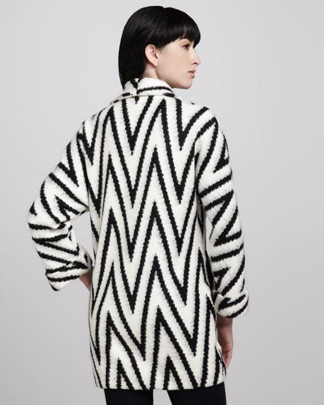 Lidell Zigzag Oversize Coat