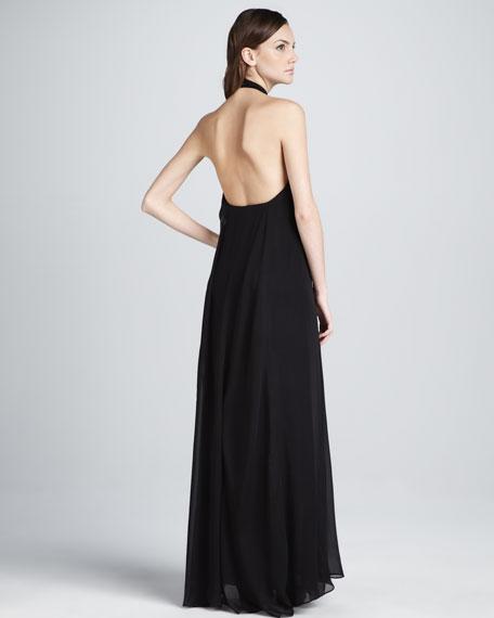 Daller Halter Maxi Dress