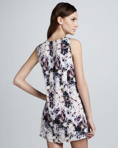 Dorchid Sleeveless Slit-Side Dress