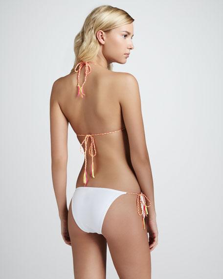 Loretta String Bikini, White