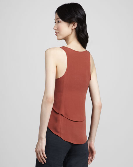 Saleya Tank Top, Terracotta