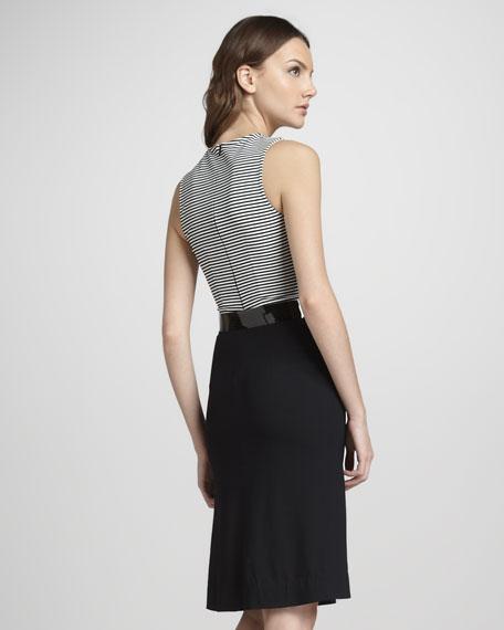 Striped Combo Dress
