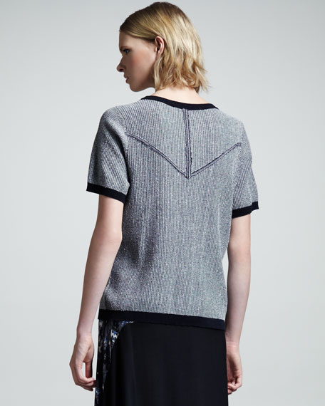 Haight Short-Sleeve Raglan Sweater
